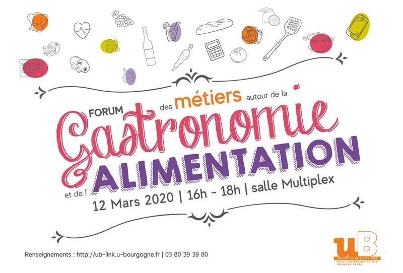 IMAG actus 2020 forum metiers gastronomie alimentation2 2020 01 10