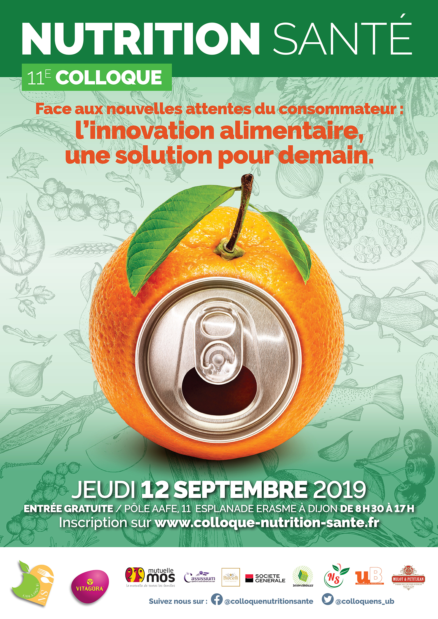 AFFICHE A2 COLLOQUE NUTRITION 2019 V3