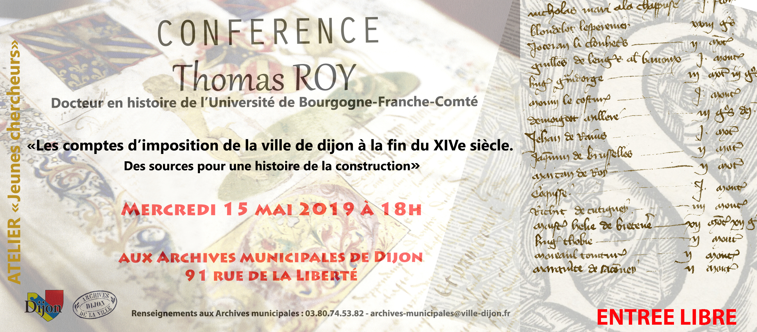 Flyer Conference Thomas Roy