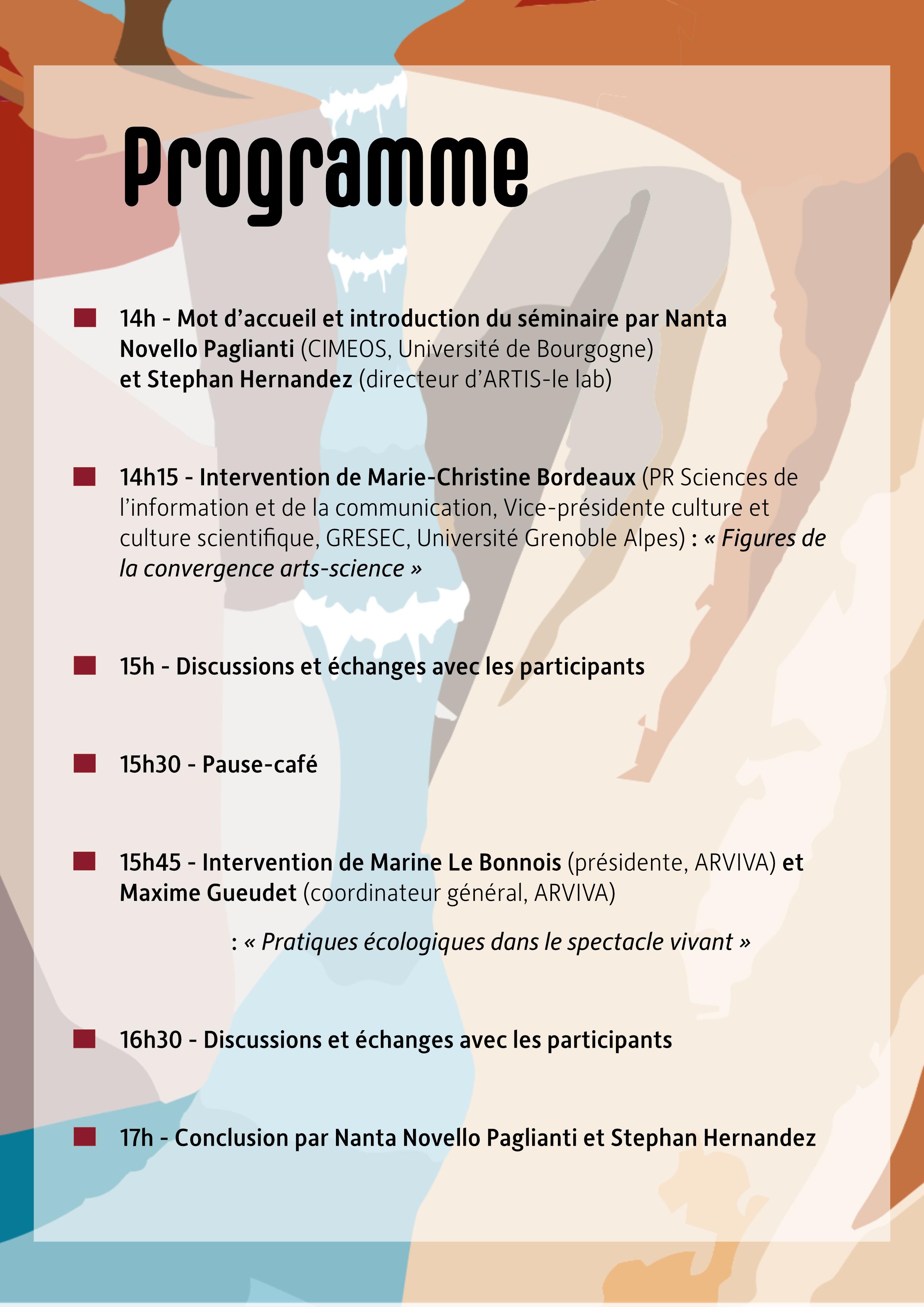 Programme 14.10.2021