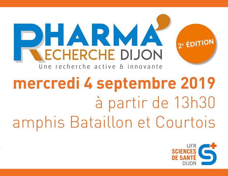 Agenda uB PharmaRecherche2021