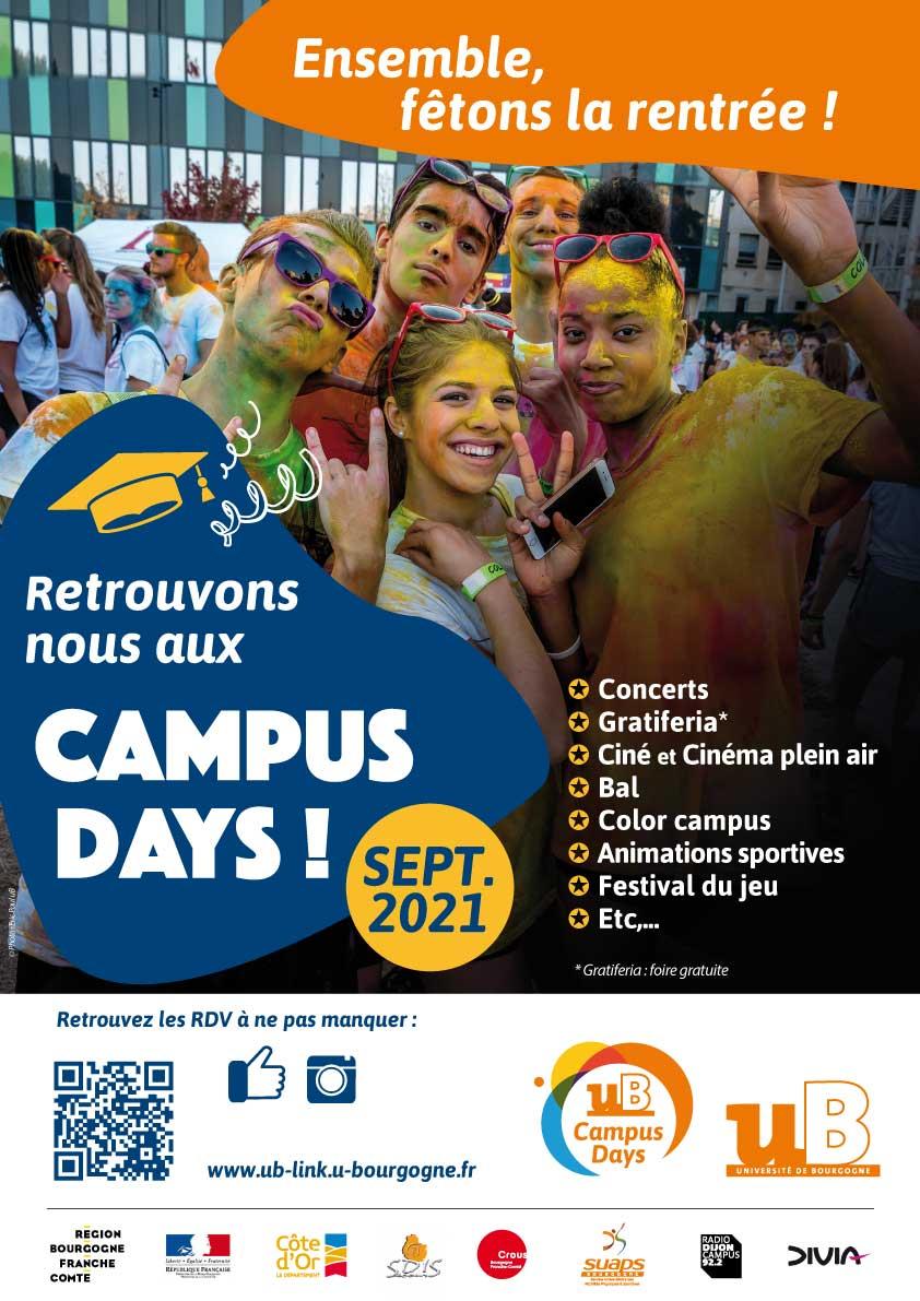 campus days affiche