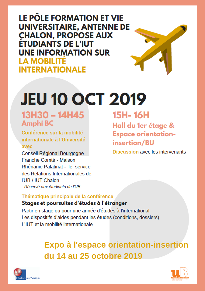 PI journee internationale iut chalon