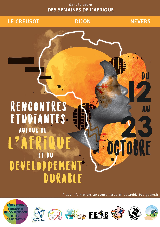affiche semaines afrique